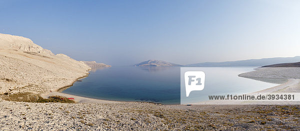 Rucica-Bucht bei Metajna  Insel Pag  Dalmatien  Adria  Kroatien  Europa