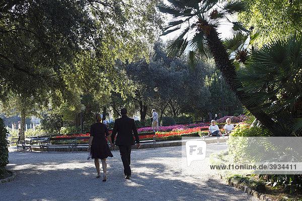 Angiolina-Park  Opatija  Abbazia  Istrien  Kroatien  Europa