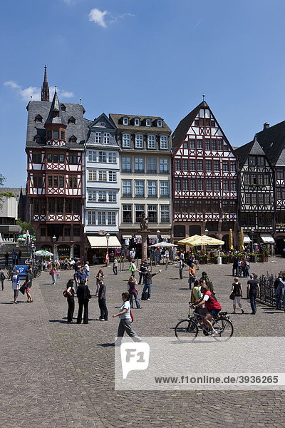 Frankfurter Römer  Frankfurt am Main  Hessen  Deutschland  Europa