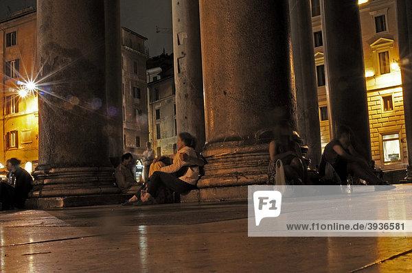 Pantheon  Piazza della Rotonda  Rome  Lazio  Italy  Europe