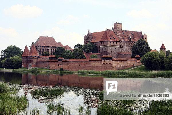 Marienburg  Malbork  UNESCO-Weltkulturerbe  Polen  Europa