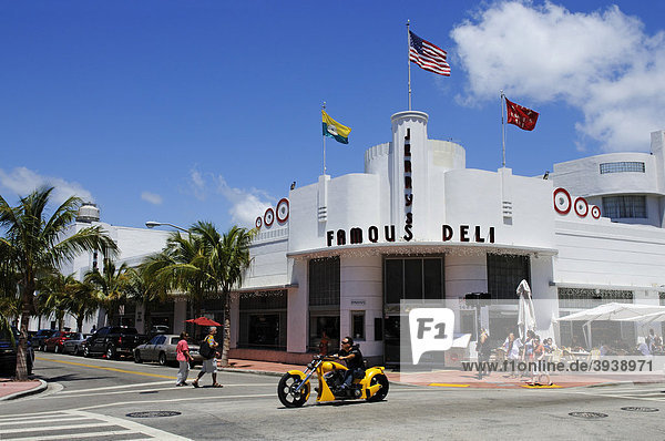 Jerry's Famous Deli  Miami South Beach  Art Deco District  Florida  USA