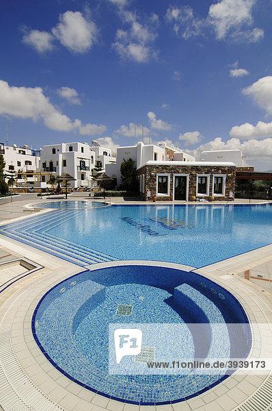 Pool  Hotelanlage  Naxos  Kykladen  Griechenland  Europa