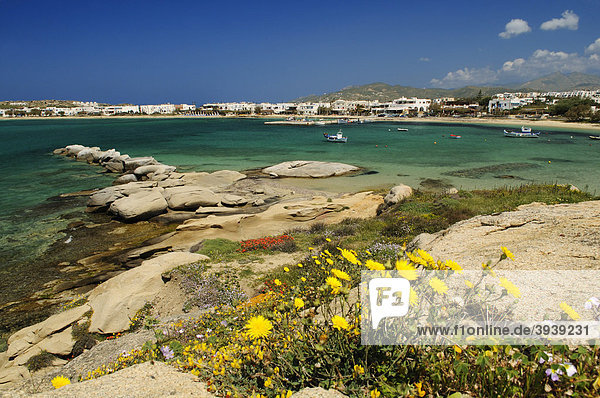 Aghia Anna-Strand  Naxos  Kykladen  Griechenland  Europa