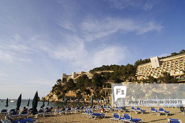Beach  Puerto de San Miguel  Ibiza  Pine Islands  Balearic Islands  Spain  Europe