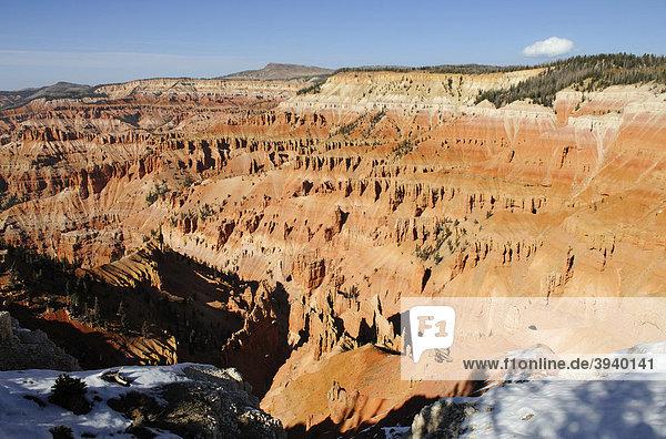 Spectra Point  Cedar Breaks National Monument  Dixie National Forest  Brian Head  Utah  USA