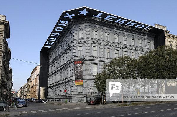 Haus des Terrors  Budapest  Ungarn  Europa