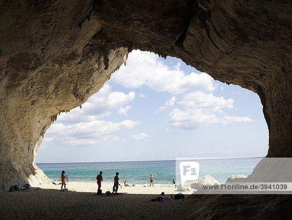 Traumbucht von Cala Goloritze am Golf von Orosei  Ostküste Sardinien  Italien  Europa