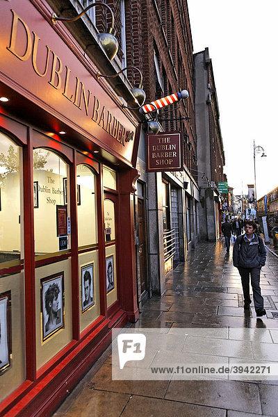Dublin Barber  Herrenfriseur  Dublin  Irland  Europa