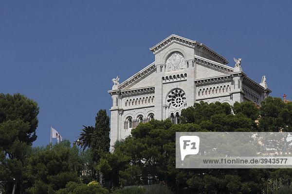 Kathedrale von Monaco  Notre-Dame-ImmaculÈe  CÙte d'Azur  Frankreich  Europa