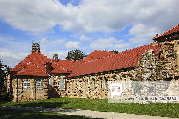 Das alte Schloss in der Eremitage in Bayreuth  Oberfranken  Bayern  Deutschland  Europa