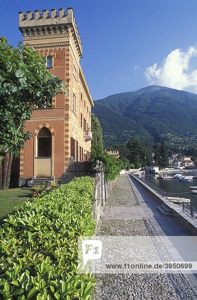 Villa in Lenno  Comer See  Oberitalienische Seen  Lombardei  Italien  Europa