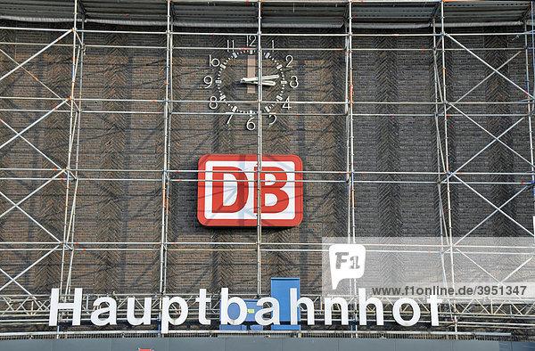 Sanierung des Hauptbahnhofs in Duisburg  Nordrhein-Westfalen  Deutschland  Europa Sanierung des Hauptbahnhofs in Duisburg, Nordrhein-Westfalen, Deutschland, Europa