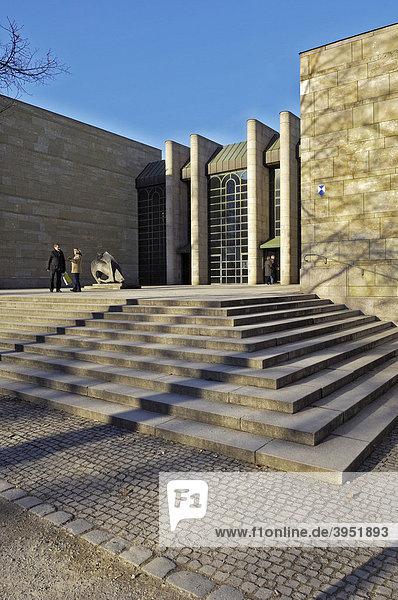 Neue Pinakothek  München  Bayern  Deutschland  Europa