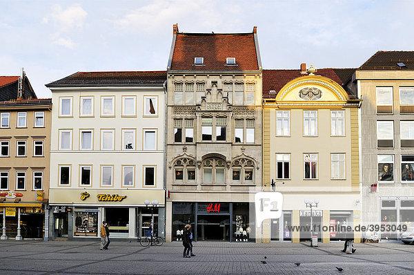 Historisches Gebäude  Göttingen  Niedersachsen  Deutschland