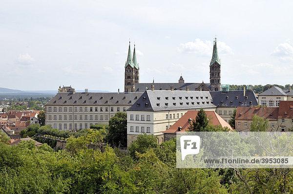 Bamberger Dom  Bamberg  Franken  Bayern  Deutschland