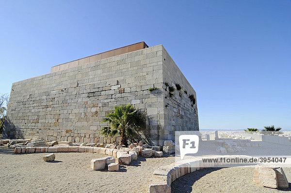 Castillo de la Concepcion  Burg  Festung  Museum  Cartagena  Costa Calida  Murcia  Spanien  Europa