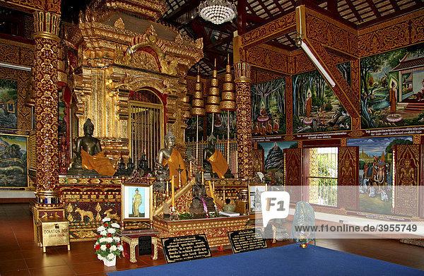 Wat Chiang Man  buddhistische Tempelanlage  erbaut 1297  Chiang Mai  Thailand  Asien