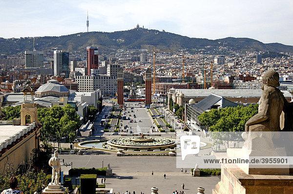 PlaÁa d'Espanya  Barcelona  Spain  Europe