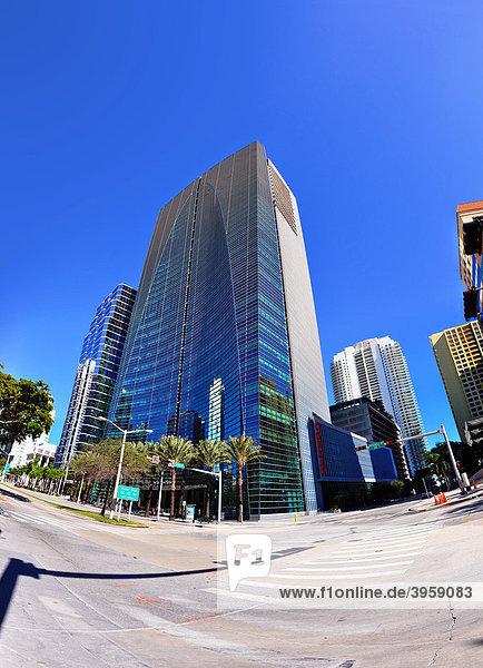 Esperito Santo Bankgebäude im Zentrum von Miami  Florida  USA
