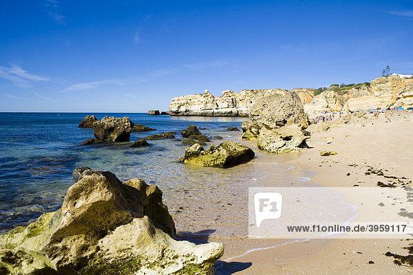 Sao Rafael Strand an der Algarve  Portugal  Europa
