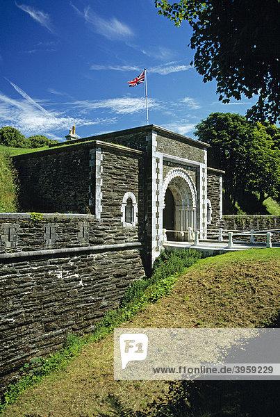 Eingang der Crownhill Festung  Plymouth  Davon  England  Großbritannien