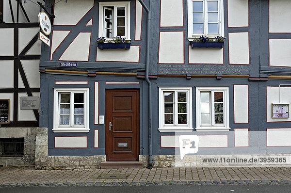 Haus  Korbach  Hessen  Deutschland  Europa
