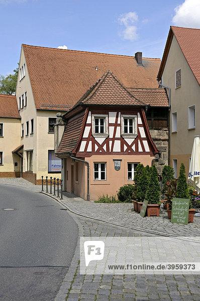 Altes Zollhäuschen  Spalt  Franken  Bayern  Deutschland  Europa