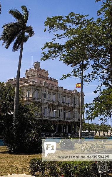 Spanische Botschaft  Havanna  Kuba