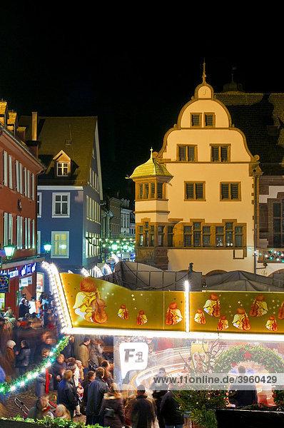 Weihnachtsmarkt  Freiburg  Baden-Württemberg  Deutschland  Europa Weihnachtsmarkt, Freiburg, Baden-Württemberg, Deutschland, Europa