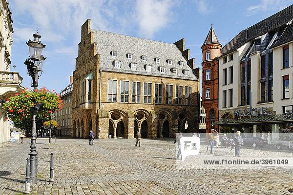 Rathaus  Minden  Nordrhein-Westfalen  Deutschland  Europa