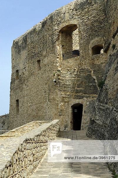 Burg  Santa Severina  Kalabrien  Italien  Europa