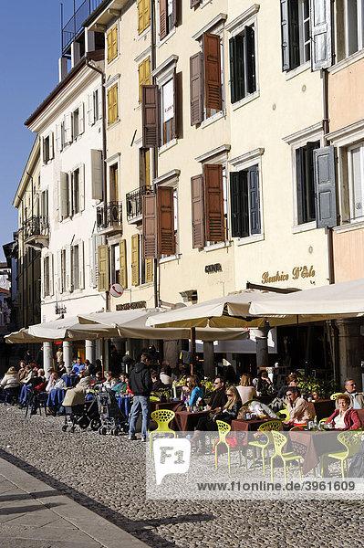 Piazza Motteotti  Udine  Friaul-Julisch Venetien  Italien  Europa