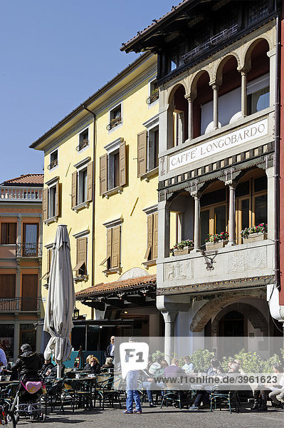Piazza Palolo Diacono  Cividale  Friaul-Julisch Venetien  Italien  Europa