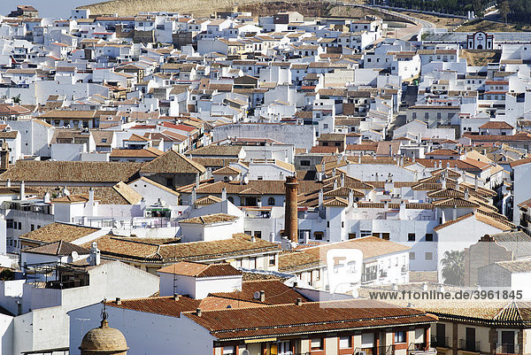 Old town  Antequera  Andalusia  Spain  Europe