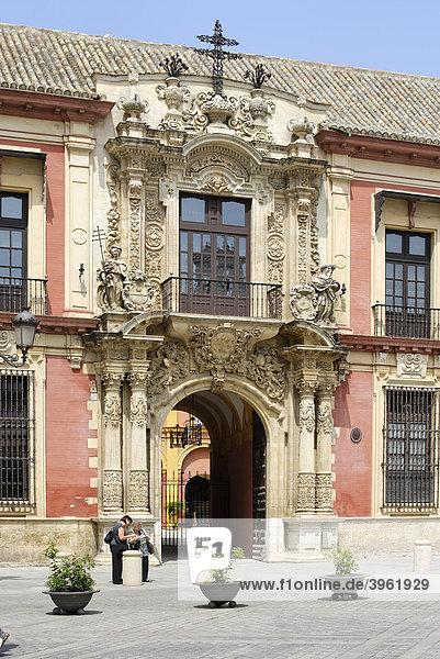 Palast der Erzbischofs  Sevilla  Andalusien  Spanien  Europa