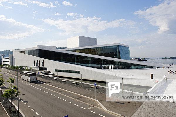Operahus  Neue Oper  eröffnet 2008  Oslo  Norwegen  Skandinavien  Europa