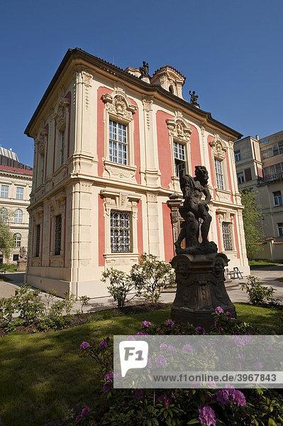 Antonin Dvorak Museum  Prag  Tschechien  Europa