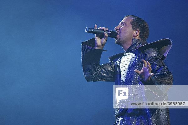 DJ-Bobo during a concert of his Vampires-Alive tour 2008  live in the Swisslife Arena Lucerne  Switzerland