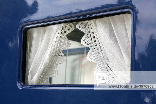Fenster eines Oldtimers