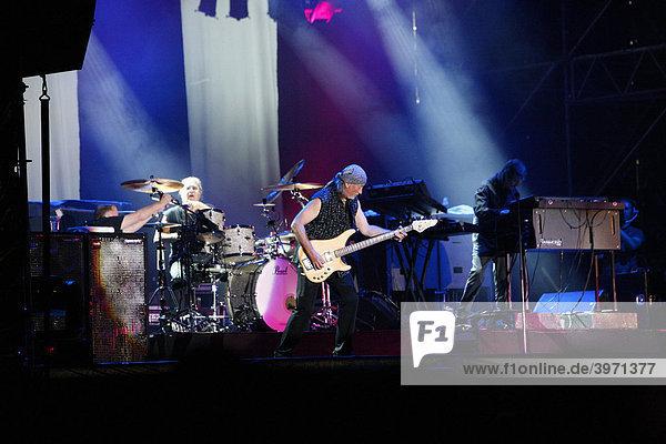Deep Purple  English rock band  Open Air Festival  Muehldorf am Inn  Bavaria  Germany