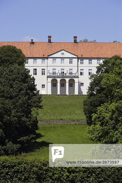 Schloss Cappenberg in Selm  Lünen  Nordrhein-Westfalen  Deutschland  Europa