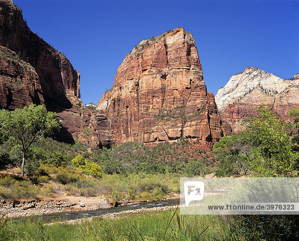 Canyon De Chelly National Monument  Felsformationen  Arizona  USA