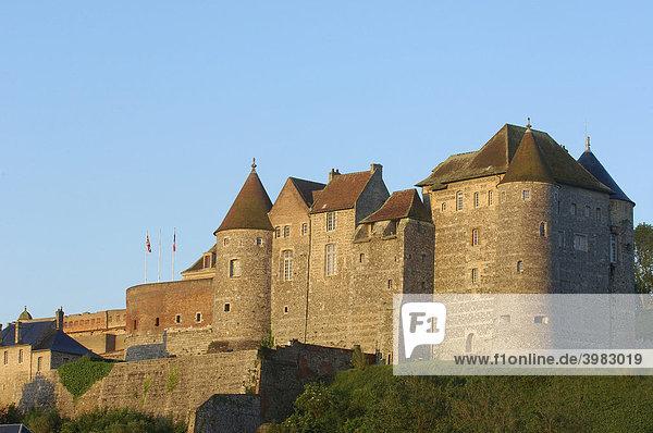 CÙte d'Albatre  Schloss-Museum  Dieppe  Haute-Normandie  Normandie  Frankreich  Europa