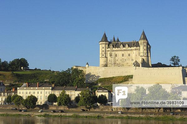 Schloss Saumur  Chateau de Saumur  an der Loire  Maine-et-Loire  Saumur  Loire-Tal  Frankreich  Europa