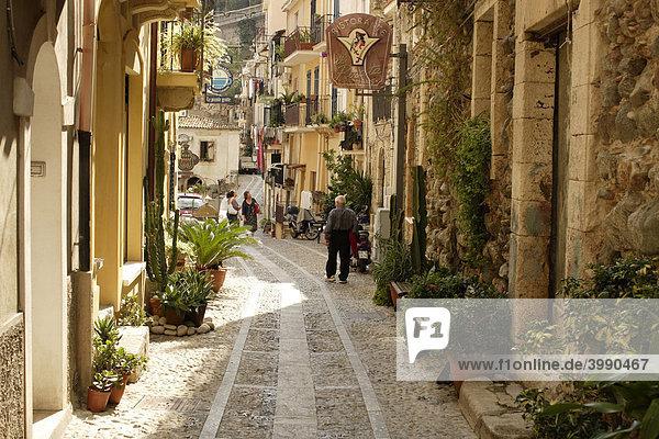 Kleine Gasse  Scilla  Kalabrien  Italien  Europa