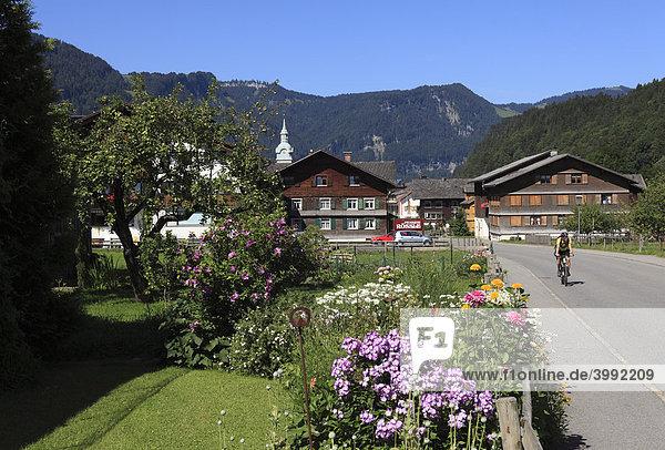 Bezau  Bregenzer Wald  Bregenzerwald  Vorarlberg  Österreich  Europa