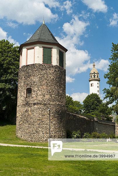 Bergfried  Höchster Schloss  ehemalige Residenz des Mainzer Erzbistums  Frankfurt  Hessen  Deutschland  Europa