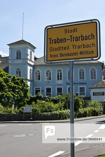 Traben-Trarbach  Mosel  Kreis Bernkastel-Wittlich  Rheinland-Pfalz  Deutschland  Europa