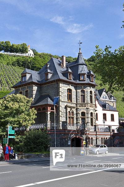 Alte Stadtvilla  Bernkastel-Kues  Mosel  Rheinland-Pfalz  Deutschland  Europa